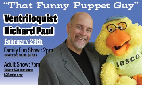 Richard Paul - That Funny Puppet Guy