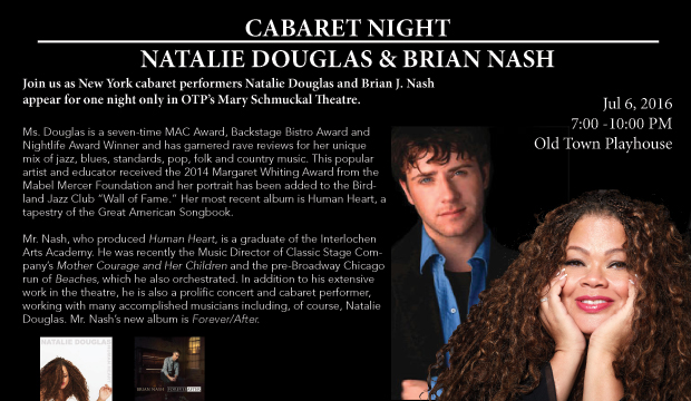 Cabaret Bight with Natalie Douglas and Brian Nash